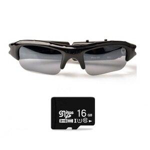 Image 1 - Lightdow Mini lunettes de soleil lunettes enregistreur vidéo numérique lunettes caméra Mini caméscope vidéo lunettes de soleil DVR