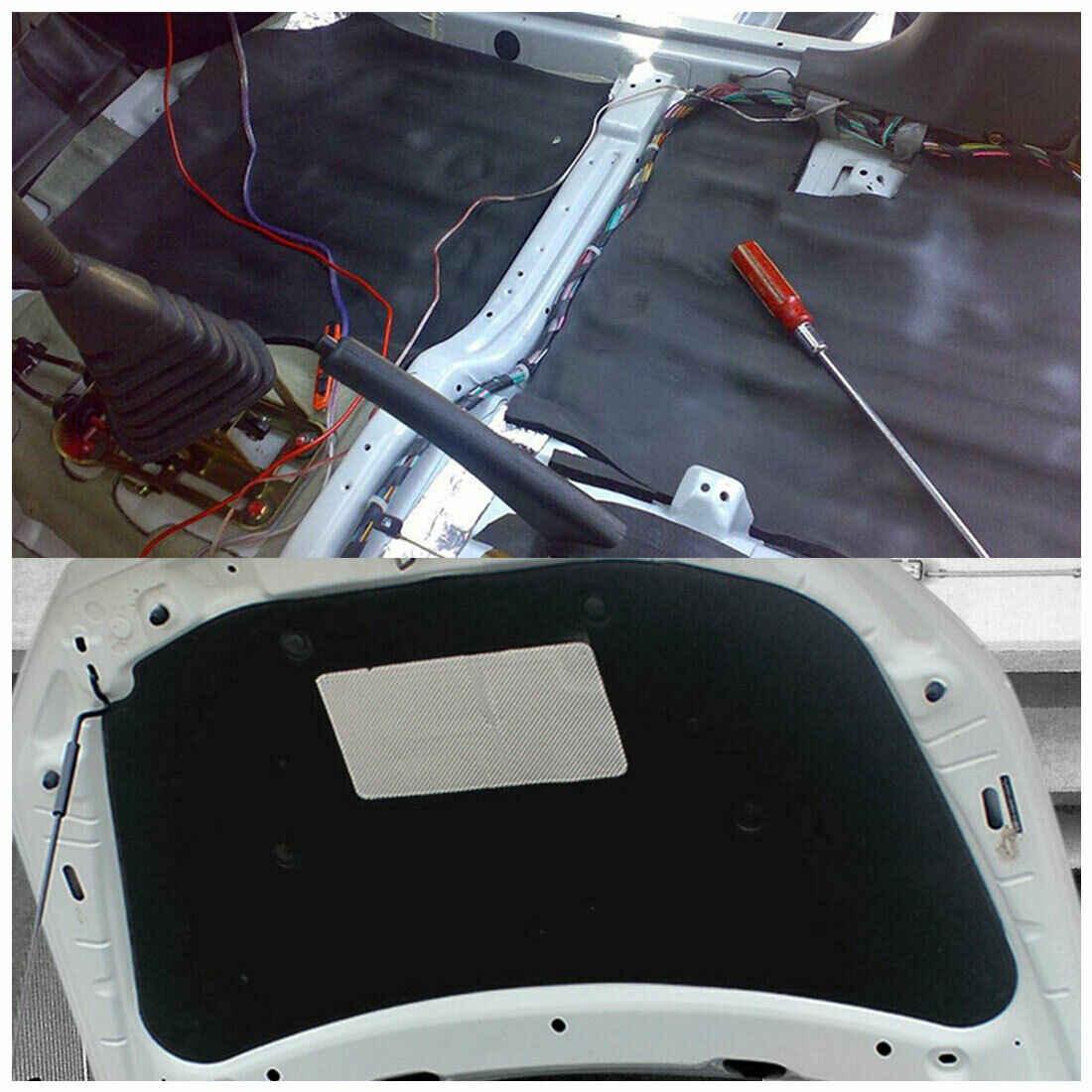 Wysoka redukcja szumów izolacja termiczna 5mm dźwiękoodporna podkładka 5mm samochodowe Stereo hałas izolacja cieplna dźwiękoszczelne maty tłumiące