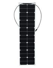 цены 18V 50W Flexible Solar Panel  with Insulating Backsheet Modules for Fishing Boat Car RV 12V Battery 50W Solar Charger