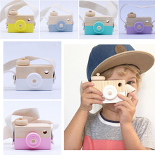 nice wooden toys baby children photography prop hanging camera decoration childr