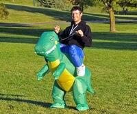 благодаря костюм хэллоуин лошадь динозавров мотор Mascara костюм мужская костюмы
