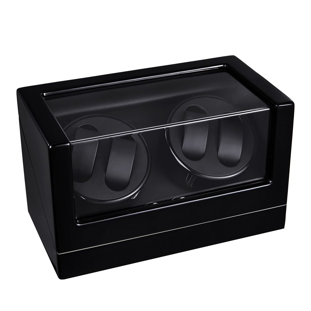 Watch Winder LT Wooden Automatic Rotation 4 0 Watch Winder Storage Case Display Box
