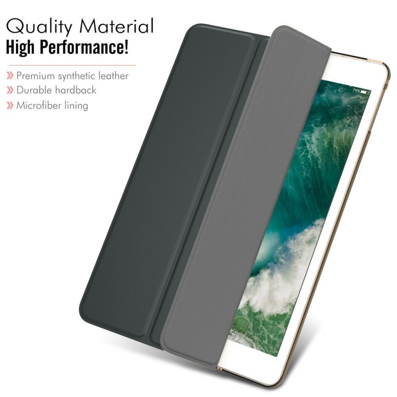 Magnetic Case for Apple iPad 9.7 2018 iPad 6th Generation A1893 A1954 WI-FI 4G LTE Funda PU Leather Smart Cover Stand Flip Case Pakistan
