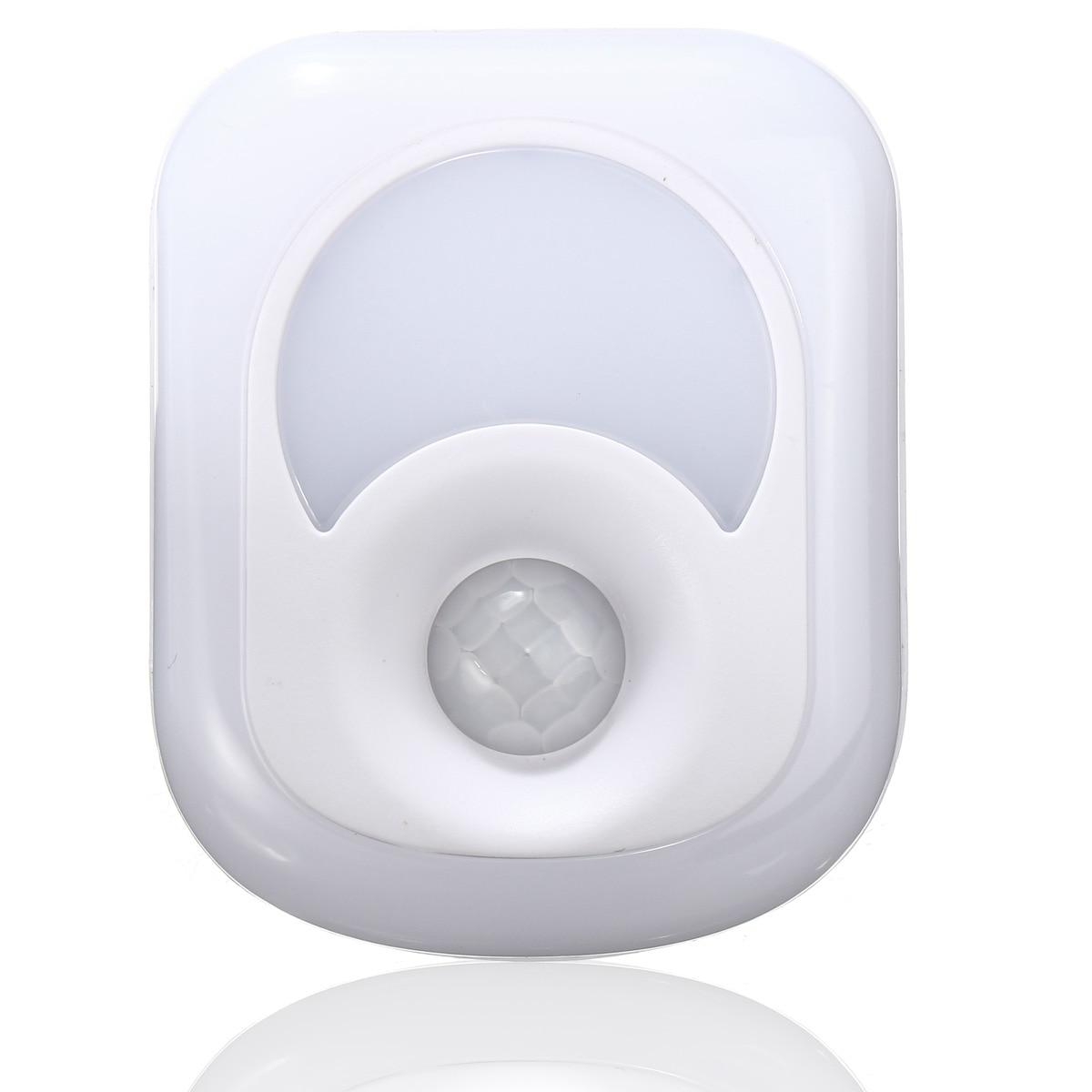 1Pcs White LED Activated Motion Sensor Lamp 26 LED Night Light for Bedroom Cabinet Hallway Home Sensor LED Lights