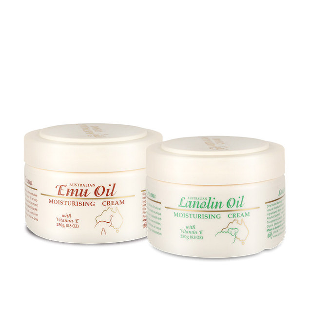 Australia GM Skincare Seat Emu Oil Cream+Lanolin Day Cream for hydrate soothe dry skin, Healing Properties fine lines & wrinkles 1