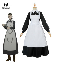 ROLECOS Yakusoku no Neverland Cosplay Costume The Promised Neverland Isabella Cosplay Women Maid Dress Anime Costume Halloween