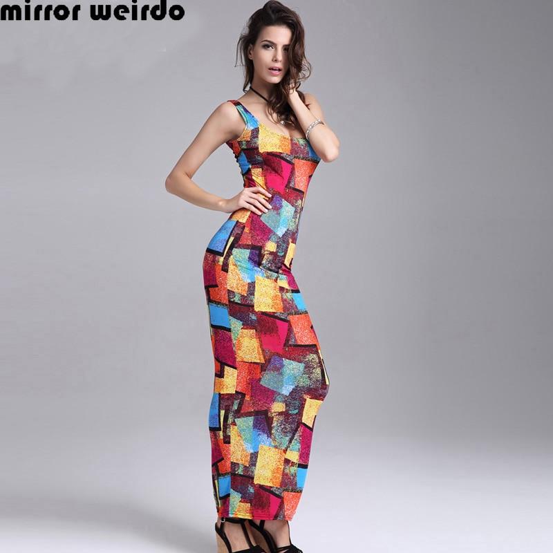 Fashion Nova Beauty Queen Maxi Dress: New 2016 Summer Fashion Ice Silk Slim Bodycon Sexy Tank