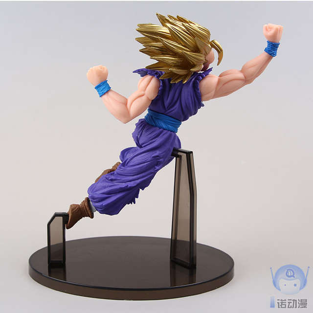 Us 14 25 New Son Gohan Super Saiyan 2 Hit Cell Akira Toriyama Anime Dragon Ball Z Banpresto 18cm Action Figure In Action Toy Figures From Toys