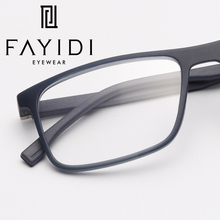 TR90 мужские очки, оправа, модные компьютерные квадратные оптические прозрачные оправа для очков, при близорукости# MZ16-09