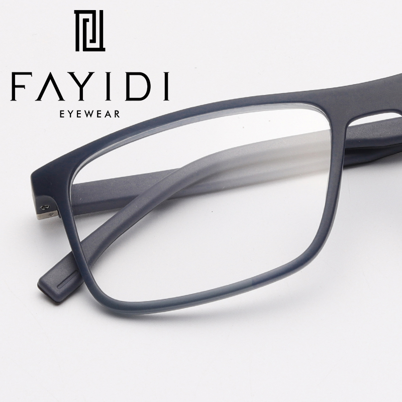 13925990f48 TR90 Men s Glasses Frame Fashion Computer Square Optical Clear Myopia  Spectacle Frame  MZ16 09-in Eyewear Frames from Apparel Accessories on  Aliexpress.com ...