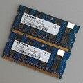 Горячая! Elpida 4 ГБ 2X2 ГБ CL6.0 DDR2-800 800 МГц PC2-6400S DDR2 SODIMM 200pin ОПЕРАТИВНОЙ ПАМЯТИ Non-Ecc 2RX8 ноутбук с Низкой плотностью Памяти Ноутбука