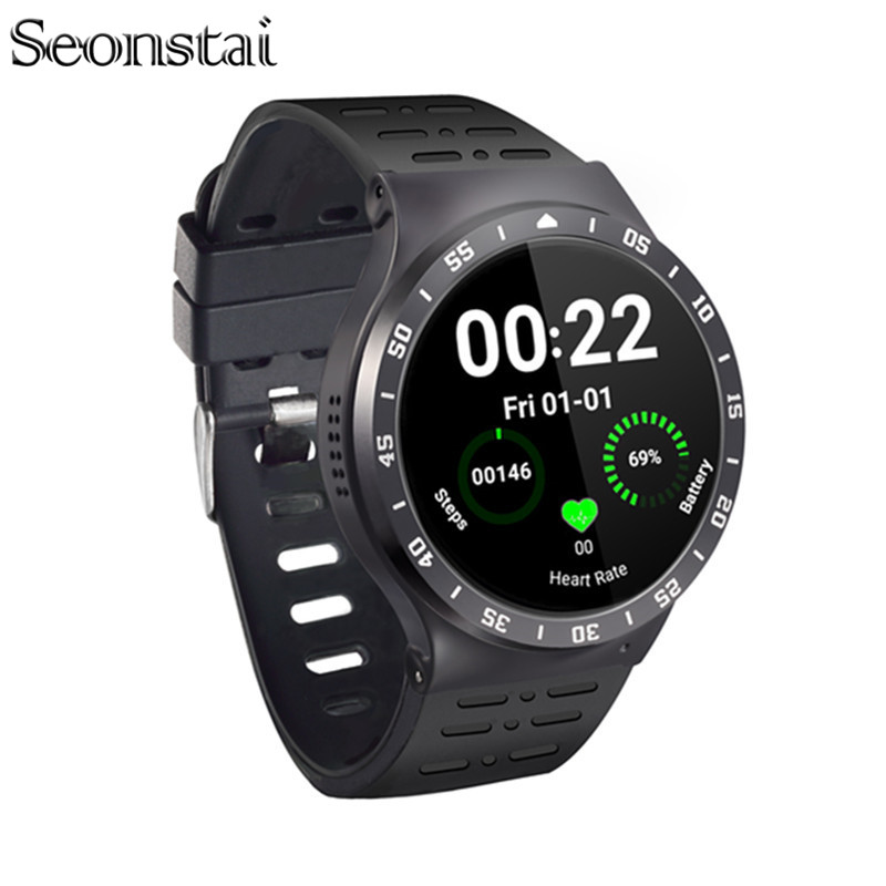 Seonstai Wearable Devices S99a Smart Watch 3G Android 5.1 Heart Rate Monitor GPS Smartwach Support SIM Card Wifi Fitness Tracker 3g smart watch phone support sim card gps wifi fm heart rate monitor pedometer bluetooth camera touch screen z9 4gb rom android