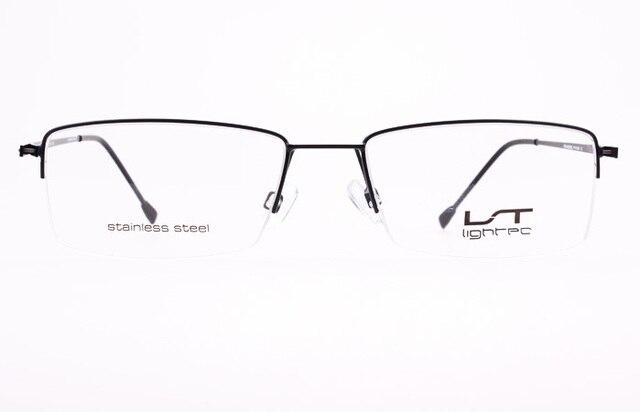 morel top for light series lightec ultra light half frame glasses frame model 7218l - Morel Frames