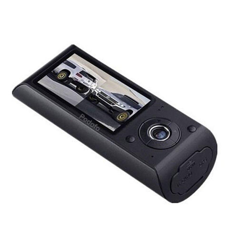 "Image 2 - Podofo New Dash Camera 2.7"" Vehicle Car DVR Camera Video Recorder Dash Cam G Sensor GPS Dual Lens Camera X3000 R300 Car DVRs-in DVR/Dash Camera from Automobiles & Motorcycles"