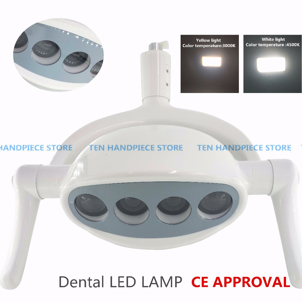2018 new CE approval dental lamp with Sensor Oral Light Lamp color temperature adjustable Dental Unit Chair implant surgery lamp2018 new CE approval dental lamp with Sensor Oral Light Lamp color temperature adjustable Dental Unit Chair implant surgery lamp