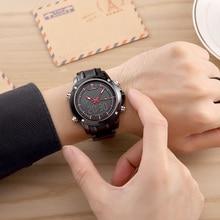 Luxury Brand Men Sports Army Military Watches Men's Quartz Analog LED Clock Male Waterproof Watch