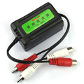 Tiptop New Car Auto Home Stereos Mini Ground Loop Isolator Noise Reduction Filter DEC9