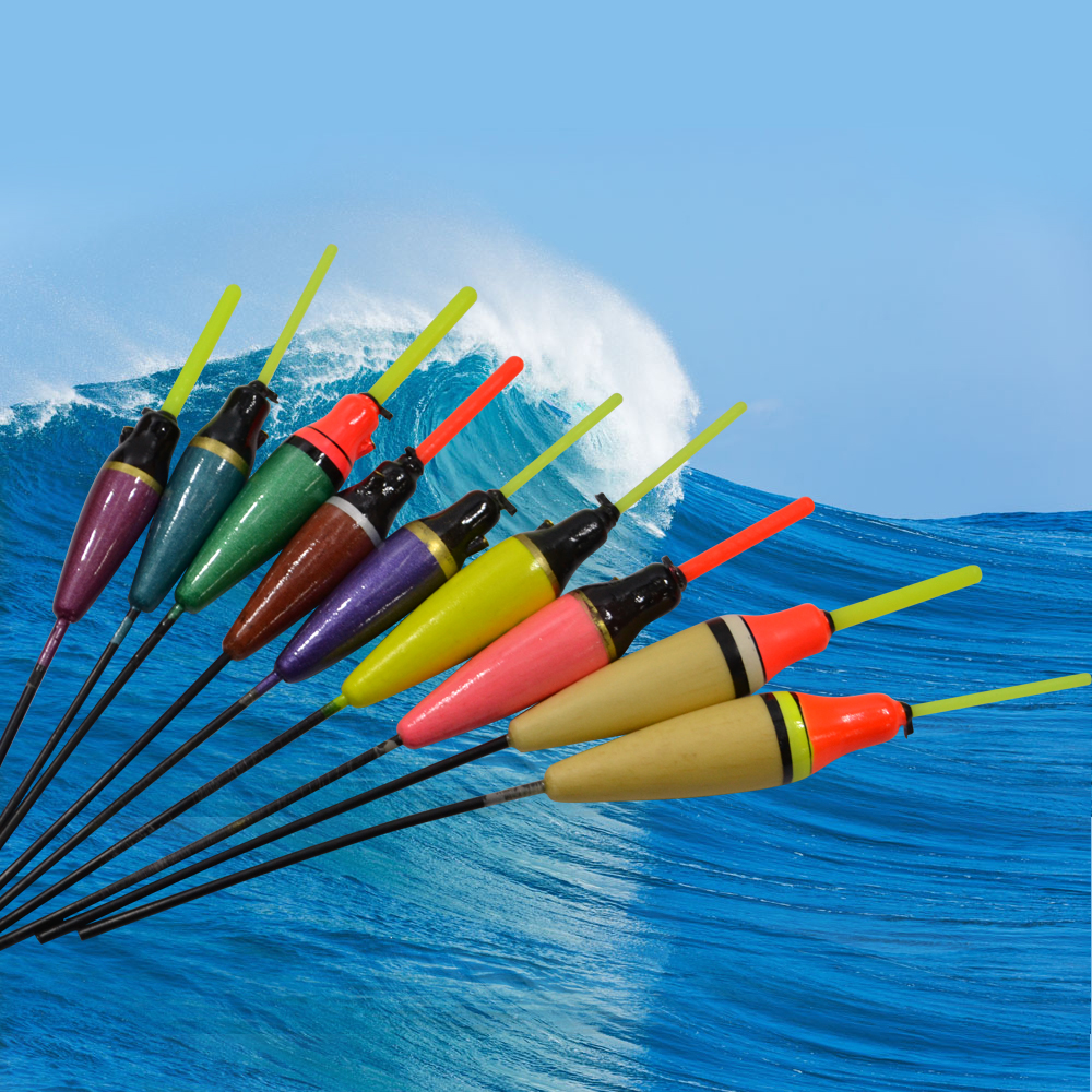 Hot New 1PC Balsa Fishing Float Lure Floats Bobbers Flotteur Peche For Carp Fishing Slip ...