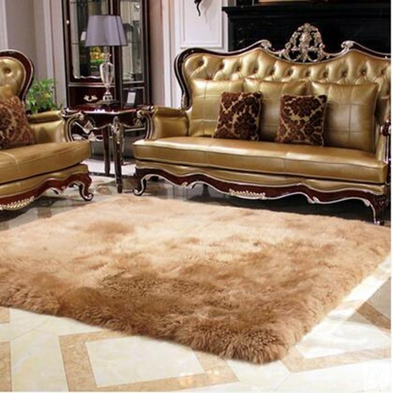 120X170 cm nouvelle Pure laine grande taille Super doux tapis salon Table basse chambre tapis boutique Tatami tapis tapis enfants chambre