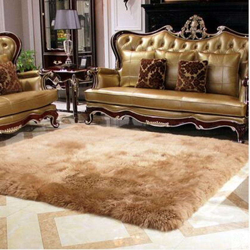 120X170cm New Pure Wool Big Size Super Soft Carpet Living