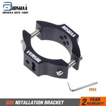 2 шт. BOSMAA G26 мотоциклетные поворотник переселения вилочные захваты держатель свет лампы крепёжный кронштейн для 30 мм-54 мм передняя вилка