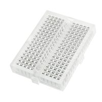 SYB-170 Solderless Prototype Mini transparent bread board for 20-29 AWG Wire (with Connect)