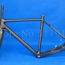 FLYXII-FR603 Toray углеродное волокно Велокросс велосипед велосипедный дисковый тормоз 53 см рама вилка