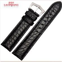 Laopijiang крокодил кожаный ремешок для часов цепи круговой мода часы аксессуары 18 мм 20 мм 22 мм