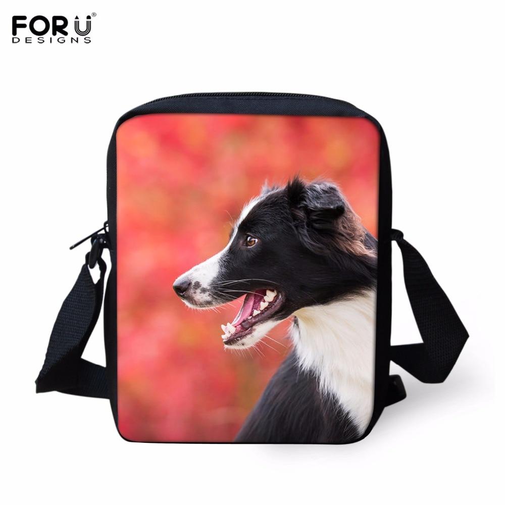 FORUDESIGN Fashion Children Cross-body School Bags 3D Greyhounds Dog Kids Book Schoolbag For Kindergarten Girls Mochilas Escolar