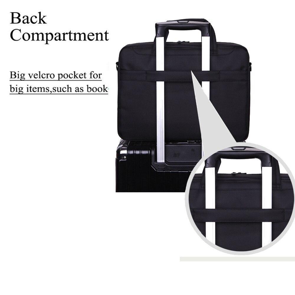 Image 5 - Nlylon Waterproof Laptop Bag 13.3/14/15.6/17.3 Inch For Macbook Pro 15 Case Notebook Bag Laptop Messenger/Briefcase For Macbook-in Laptop Bags & Cases from Computer & Office