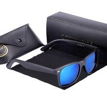 Hot Rays Polarized Sunglasses Top Quality Coating Men&Women Sunglasses Brand Designer Driving Mirror Eyewear With Luxury Box