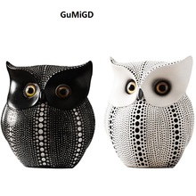 The Nordic modern minimalist decoration office  Home Furnishing children room owl Creative Techn
