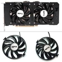 جديد FDC10U12S9 C 12v 0.45AMP PC التبريد ل XFX R9 380X R7 370 راديون R9 380X R7 370 Grahics بطاقة كما استبدال GPU التبريد مروحة