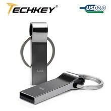 Pendrive u flash drive серебряный металлический памяти pen диск гб водонепроницаемый
