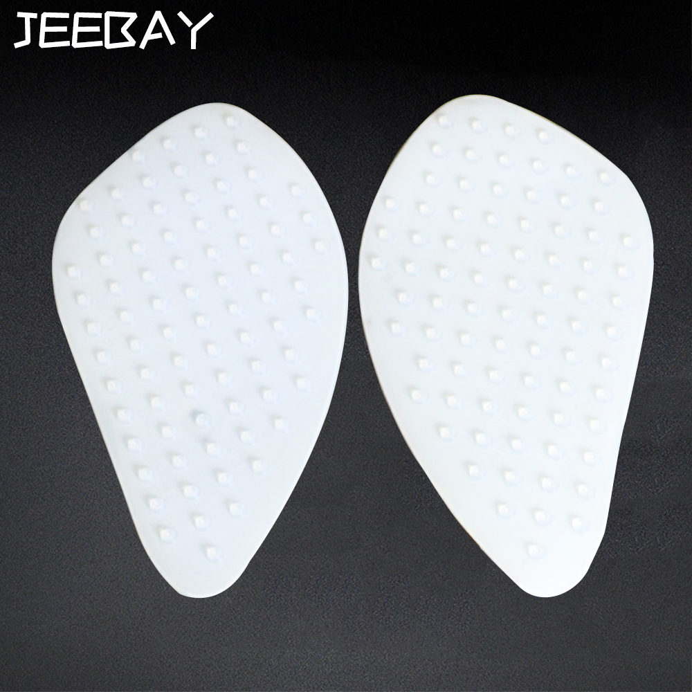 JEEBAY Universal Motorcycle Sticker Tank Pad Traction Silica Gel Side Gas Knee Grip Protector Decals Motorcycle Tank Stickers