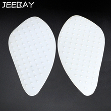 Decals Tank-Pad Tank-Stickers Grip-Protector Motorcycle Traction JEEBAY Silica Gel-Side
