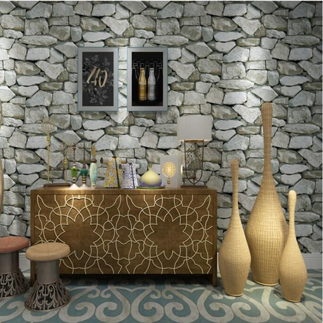 Online Shop Wallpapers youman Vintage Waterproof Wall Paper Home ...
