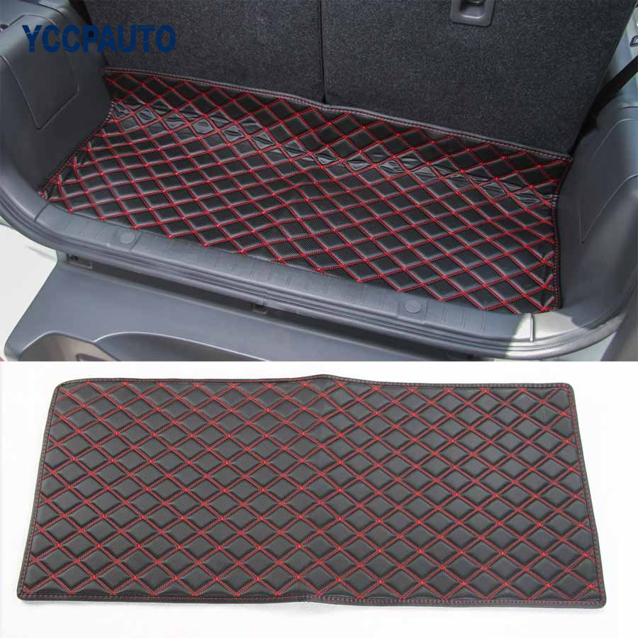 Car Styling For Suzuki Jimny 2007 Slot Back Door Groove Waterproof Trunk Luggage Mat Pad Latex