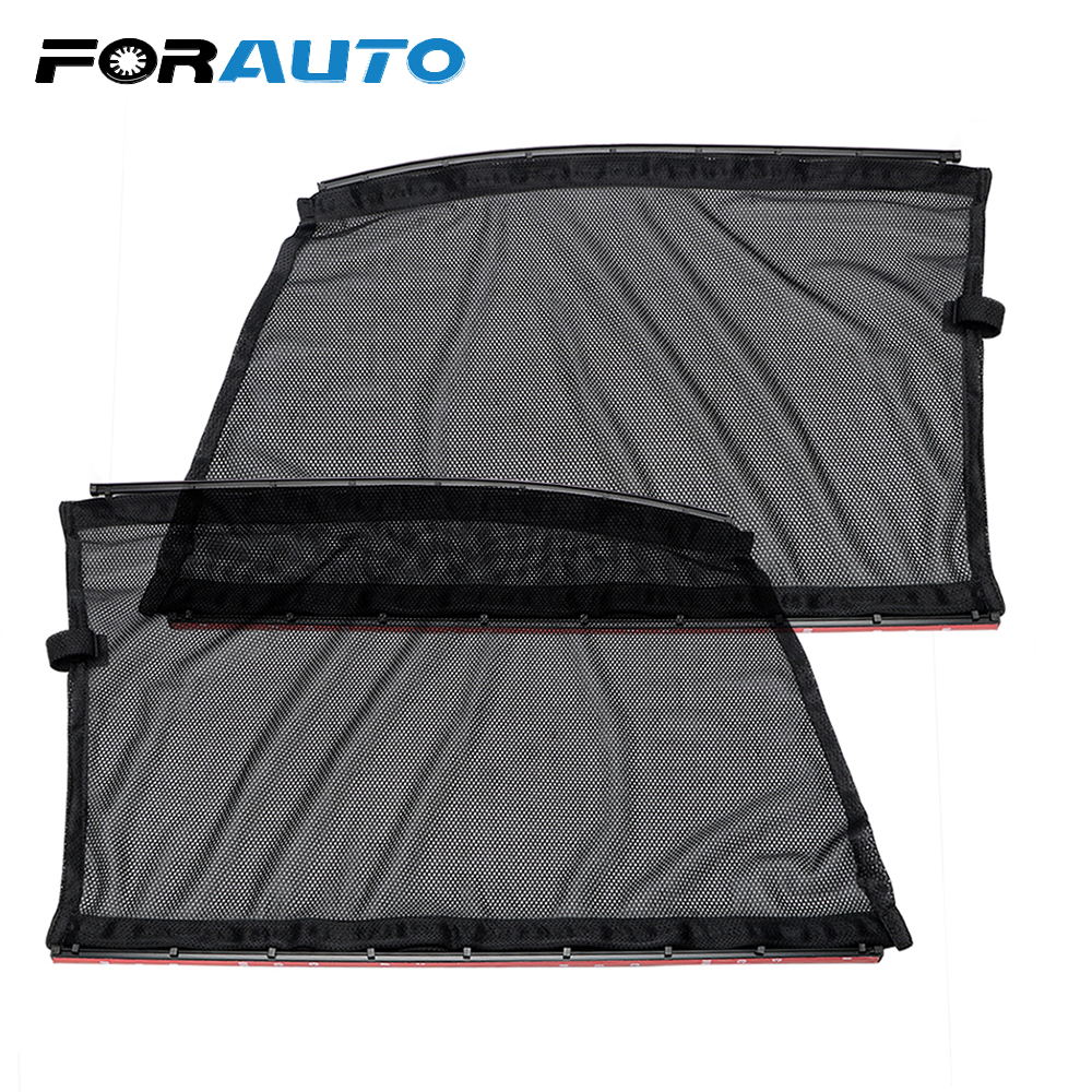 FORAUTO Car Curtains for Front Side Window Interior s