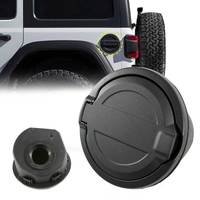 Fuel Filler Door Cover Gas Cap Exterior Accessories For Jeep Wrangler JL Unlimited