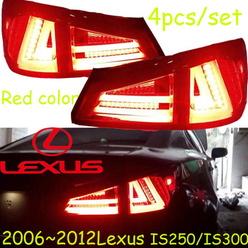 2006~2012year tail light for Lexus IS250 IS300  taillight car accessories LED DRL Taillamp for Lexus IS300 IS250 fog light