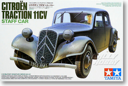 1/35 Citroen Traction 11CV Work Vehicle 35301