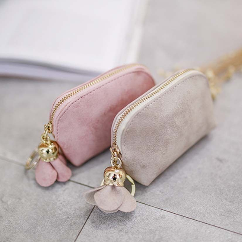 New Fashion Purses Women Ladies PU Leather Wallet Card Holder Zip Clutch Coin Leather Purse