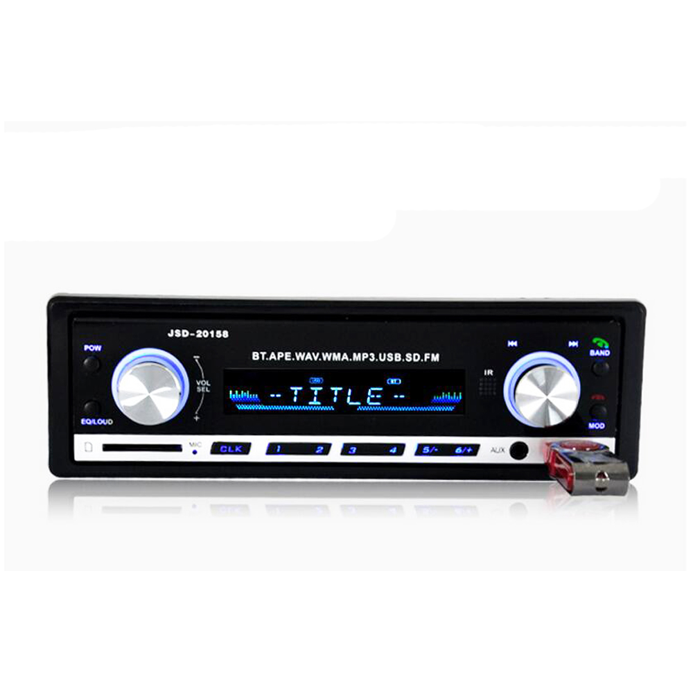 car radio bluetooth v2 0 autoradio jsd 20158 car stereo. Black Bedroom Furniture Sets. Home Design Ideas