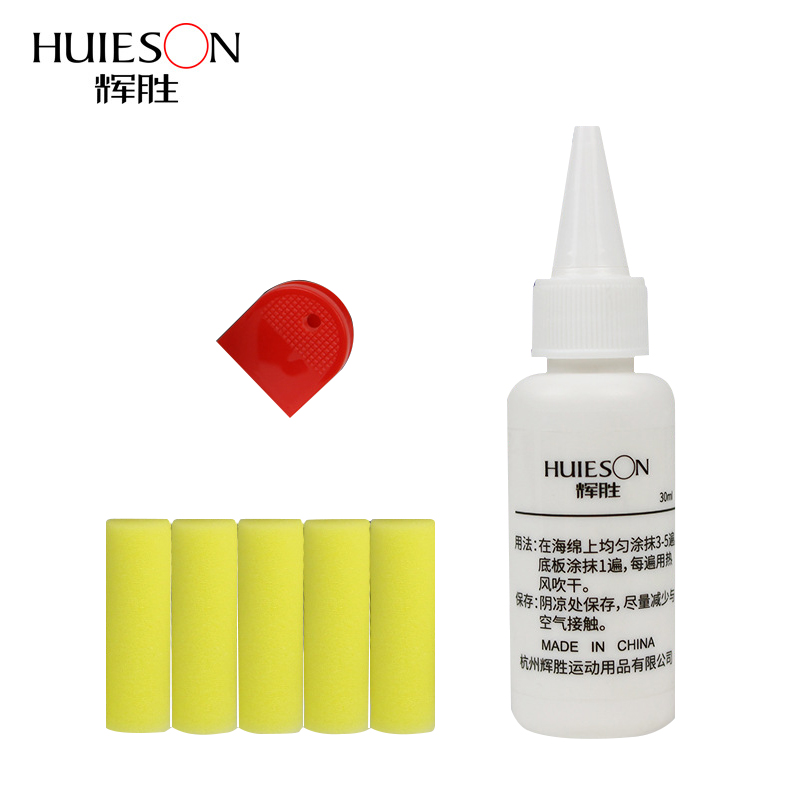 Huieson Professional Table Tennis Glue 30ml Inorganic Table Tennis Rubber Glue For Gumming Blade Racket DIY Environmental Gum(China)