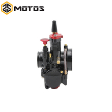 ZS MOTOS 28mm 30mm 32mm 34mm Silver Motorcycle Engine Part Carburetor PWK KOSO Carburetor With Power Jet Dirt Bike ATV Racing