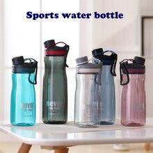Пластиковая бутылка для воды 1000 мл bpa свободная большая емкость для спорта на открытом воздухе