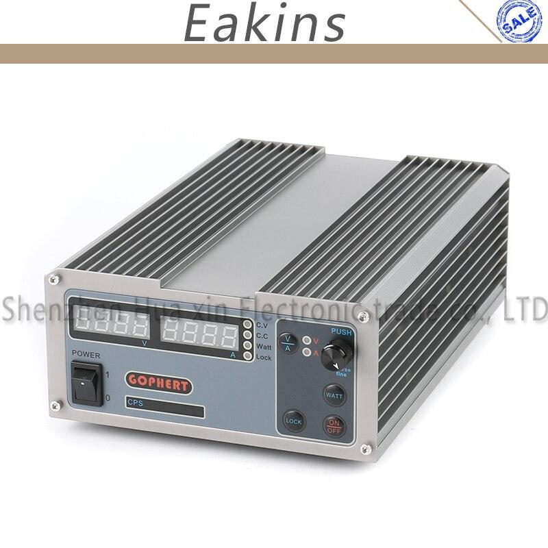 CPS-1640 Compacto Interruptor de Laboratório Digital Ajustável DC Power Supply OVP/OCP/OTP MCU 16 V 40A PFC Ativo 170 V-264 V + EU + Cabo