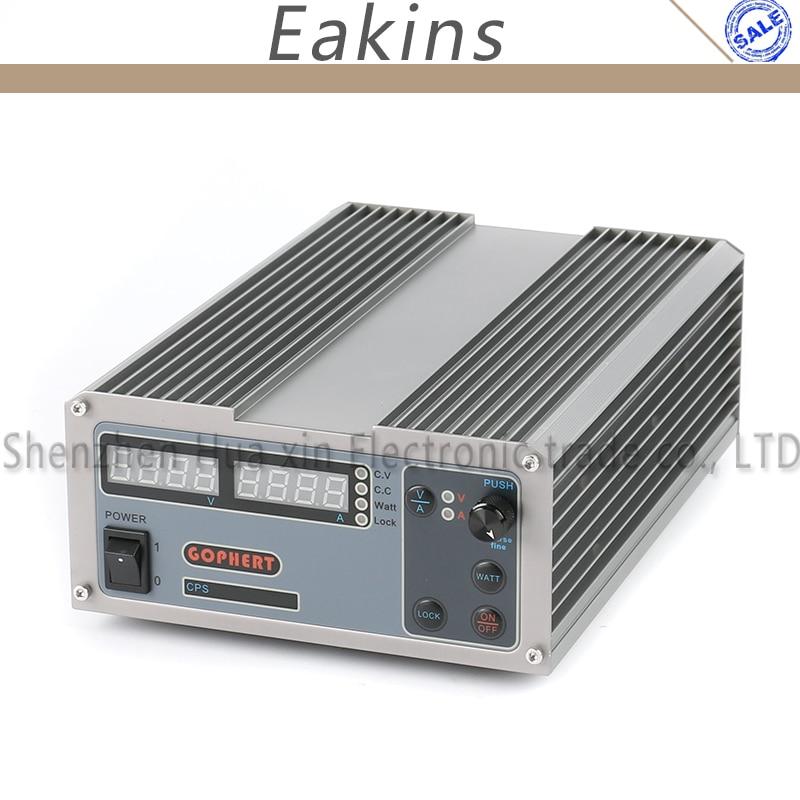 CPS-1640 Interruttore Laboratorio Digitale Compatta Regolabile Alimentatore DC OVP/OCP/OTP MCU PFC Attivo 16 V 40A 170 V-264 V + EU + CavoCPS-1640 Interruttore Laboratorio Digitale Compatta Regolabile Alimentatore DC OVP/OCP/OTP MCU PFC Attivo 16 V 40A 170 V-264 V + EU + Cavo