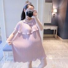 Дресс-код материнство бретелек шифон летом воротник юбка лето беременных длинные женщин